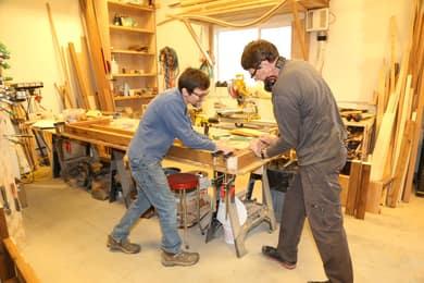 Just part of the large workshop / woodshop