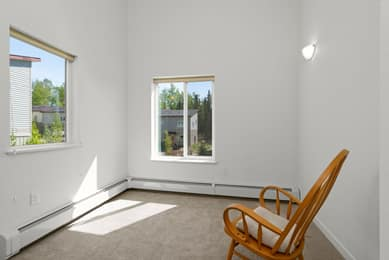 Bedroom 3 south & east-facing windows