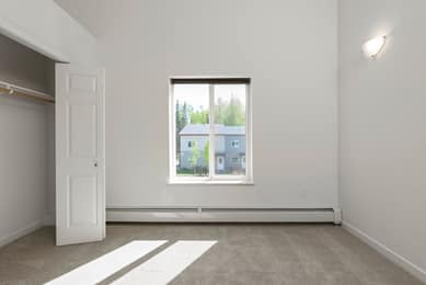Bedroom 2 south-facing window