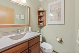 Main Level Powder Bathroom