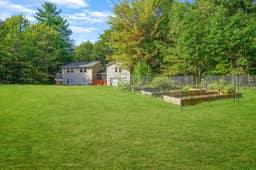 Garden beds, front yard