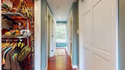 TWO walk in closets in Primary Suite