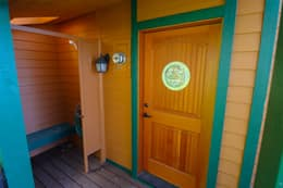 Front Door with Outdoor Shower