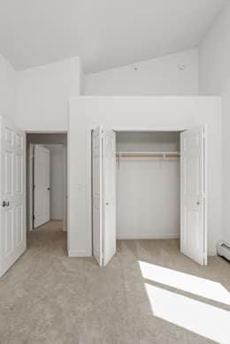 Bedroom 2 loft above closet