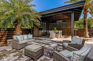 Patio With Gas Fireplace/Fire Pit