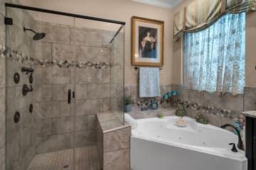 Master Shower/Jet Spa Tub