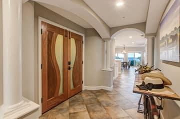 Foyer - Custom Solid Entryway Door