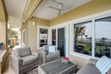 Balcony - Equipped with Automatic Hurricane Shutters