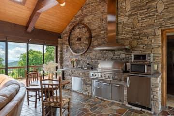 Sun Porch Kitchen